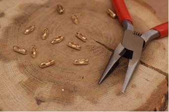 Τελείωμα για Αλυσίδα Χρυσό 2,4mm 50τεμ. MI3414-A226G