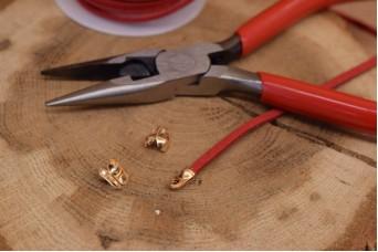 Τελείωμα για Κορδόνι/Αλυσίδα Χρυσό 3,2mm 50τεμ. MI3414-A232G