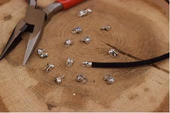 Τελείωμα για Κορδόνι/Αλυσίδα Ασημένιο 2,4mm 50τεμ. MI3414-A233S