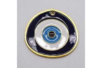 Μεταλλικό Μάτι 55mm με Σμάλτο MI-013