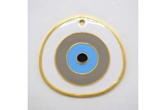 Μεταλλικό Μάτι 55mm με Σμάλτο MI-014