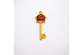 Μεταλλικό Κλειδί 35mm με Σμάλτο MI-030