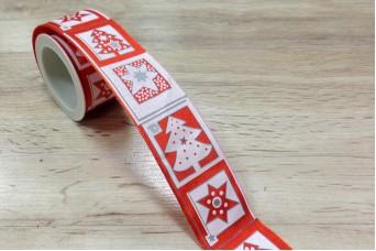 Κορδέλα Χριστουγεννιάτικη Έλατο 3m R8792-3
