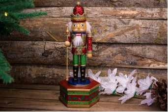 Χριστουγεννιάτικο Μουσικό Κουτί Στρατιώτης CD111708-1