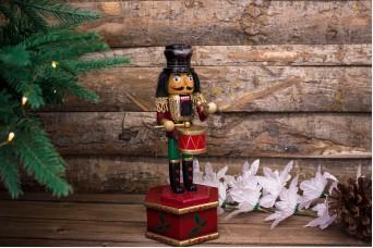 Χριστουγεννιάτικο Μουσικό Κουτί Στρατιώτης CD111708-2