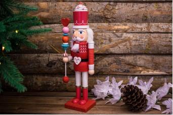Χριστουγεννιάτικος Διακοσμητικός Στρατιώτης Κόκκινες Καραμέλες CD132955