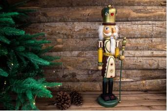 Χριστουγεννιάτικος Διακοσμητικός Στρατιώτης Μακρύ Παλτό CD143354-2