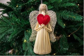 Κρεμαστός Άγγελος Καρδιά Baboo CD3728