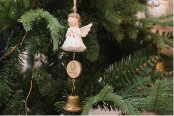 Χριστουγεννιάτικο Κρεμαστό Αγγελάκι CD5013
