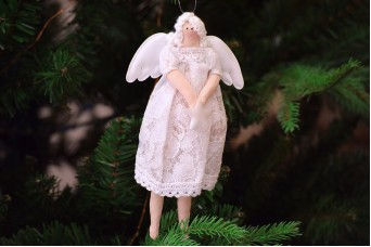 Κούκλα Νεράιδα Λευκή 19cm CD5067