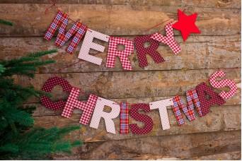 """Γιρλάντα """"Merry Christmas"""" CD7760"""