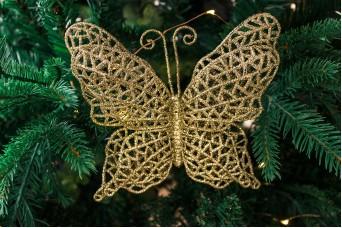 Κρεμαστό Στολίδι Πεταλούδα 16cm CD7869