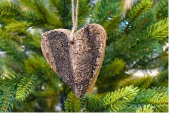 Καρδιά με Φλοιό 7.5cm WI2964