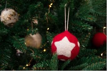Χριστουγεννιάτικες Μπάλες Felt Αστέρι CD7618