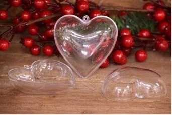 Καρδιά Πλαστική Ανοιγόμενη 10cm PLI0881-10