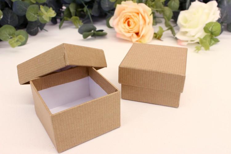 Χάρτινα Κουτιά Craft 6x6x4 cm