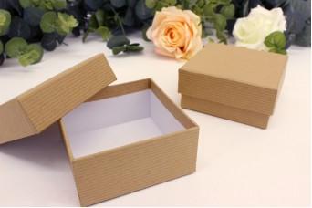 Χάρτινα Κουτιά Craft 8x8x4 cm