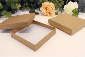 Χάρτινα Κουτιά Craft 10x10x2cm 10-1002Υ