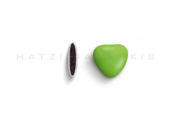 Κουφέτα Καρδιά Μεσαία Χρώμα Κουτί 500g, Βεραμάν Γυαλισμένο