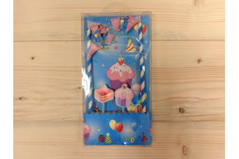 Cake Topper Cupcake 1401C