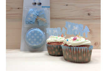 Cupcake Kit It's a Boy 1412B