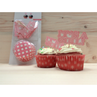 Cupcake Kit It's a Girl 1412R