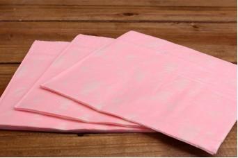 Χαρτοπετσέτες Floral Ροζ