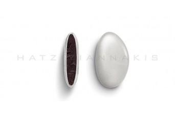 Κουφέτα Bijoux Supreme Περλέ Κουτί 500g, Λευκό
