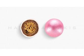Κουφέτα Crispy Περλέ Κουτί 350g, Ροζ