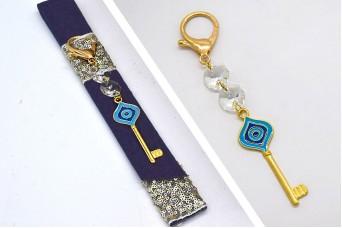 Γούρι Μπρελόκ Χρυσό Κλειδί 20-115a