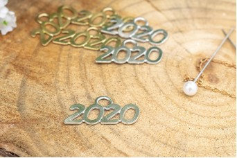 Μεταλλικό 2020 1 Κρίκος Ασημένιο MIK-2020-S