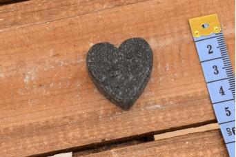 Σαπούνι Καρδιά Μαύρο 25104-1B
