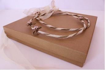 Χάρτινα Κουτιά Craft 26x26x4 cm