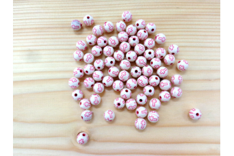 Χάντρες Ροζ Σταυρός 28011