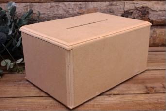 Κουτί Ευχών MDF Φυσικό