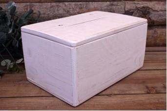 Κουτί Ευχών Ξύλινο Λευκό
