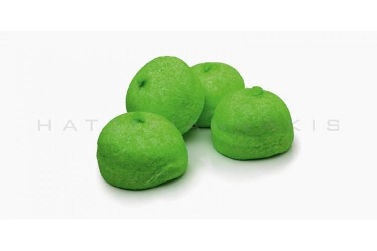 Marshmallow Golf Balls 1kg, Πράσινο Σακ.