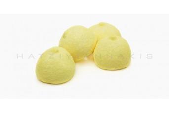 Marshmallow Golf Balls 1kg, Κίτρινο Σακ.