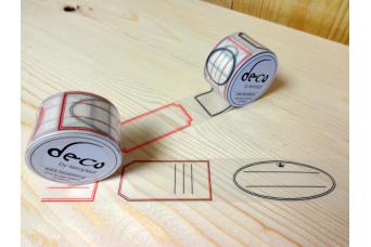 Αυτοκόλλητη Ταινία Διακόσμησης 30mm x 10m Tape-8452