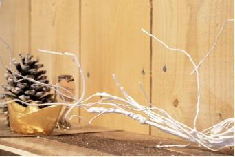 Κλαδί Ρίζα Λευκό 130cm AF-3928