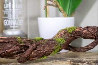 Κλαδί Ρίζα 180cm Πράσινο Χνούδι AF-5426