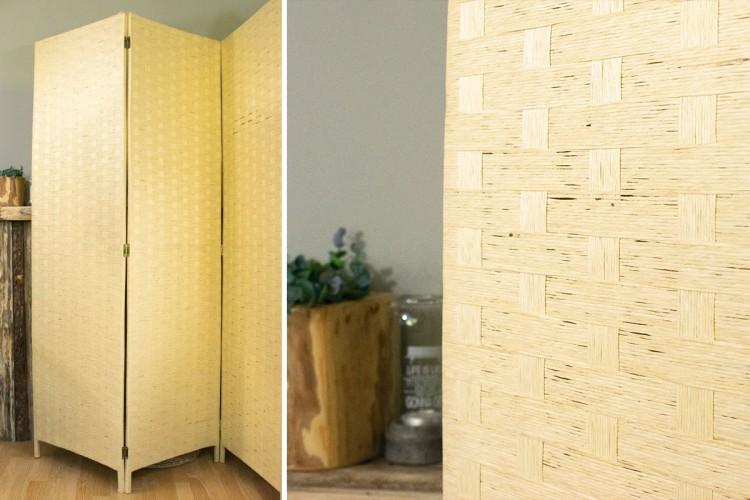 Παραβάν Bamboo 1.8x200cm 4 Φύλλα B-3705