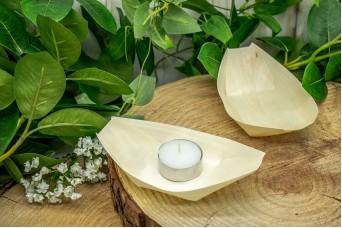Βαρκούλα Bamboo 14cm B5042