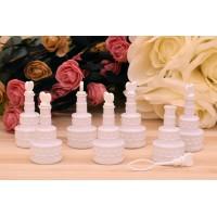 Σαπουνόφουσκες Γαμήλια Τούρτα Λευκό BB120146-1