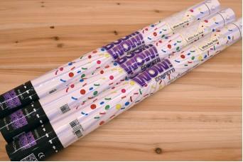 Confetti Cannon 60cm Λευκά Ροδοπέταλα BMC605o