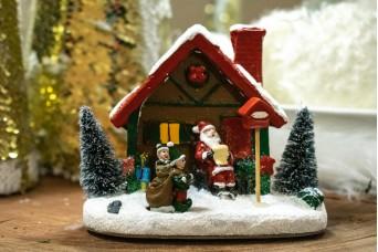 Χριστουγεννιάτικο Διακοσμητικό Χωριό CD5121
