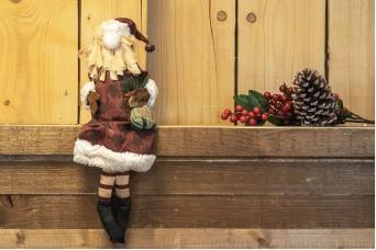 Μαριονέτα Άγιος Βασίλης 60cm CD-4687
