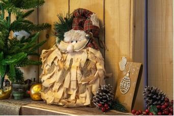 Μαριονέτα Άγιος Βασίλης Κρεμαστός CD-4740