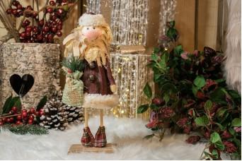 Μαριονέτα Άγιος Βασίλης 10x33cm CD-4747-1