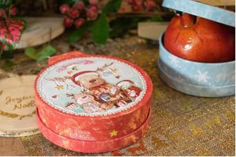 Μεταλλικό Χριστουγεννιάτικο Κουτί CD19-7319-7